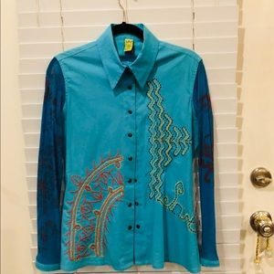 Designer blouse by Save the Queen
